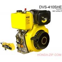 Двигатель дизельный DVS410.SHE с электростартером шлицевой вал