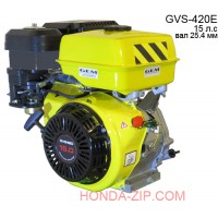 Двигатель бензиновый GVS420E с электростартером