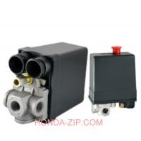 Прессостат компрессора 220В 3-выхода 20А тип К130