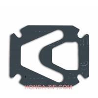 Прокладка компрессора 72x48мм тип М191