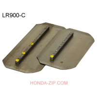 Лопасти затирочные 900 мм комбинированные 2.5 мм LR900-С под болт
