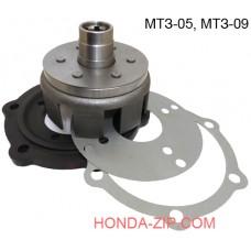 Комплект установки двигателя на мотоблок Беларус МТЗ-05, МТЗ-09 вал 25мм шлицы