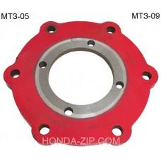 Фланец промежуточный установки двигателя на мотоблок Беларус МТЗ-05, МТЗ-09