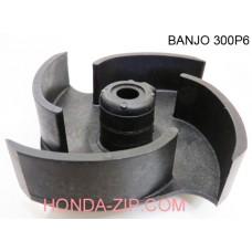 Крыльчатка помпы BANJO 300P6, BANJO 300PH-6, BANJO 300PB, BANJO 300PO для перекачки КАС для патрубка 80мм
