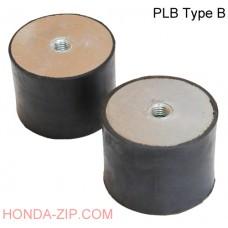 Амортизатор резиновый Shocker PLB 25x25мм тип B