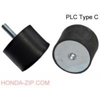 Амортизатор резиновый Shocker PLC 25x25мм тип C