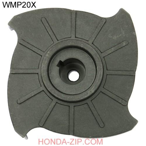 Крыльчатка мотопомпы HONDA WMP20X шпонка 78106-YE0-003