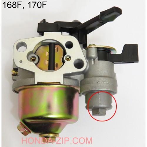 Карбюратор для двигателя 168F 170F с отстойником